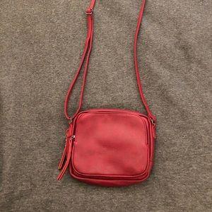 Handbags - Red crossbody bag